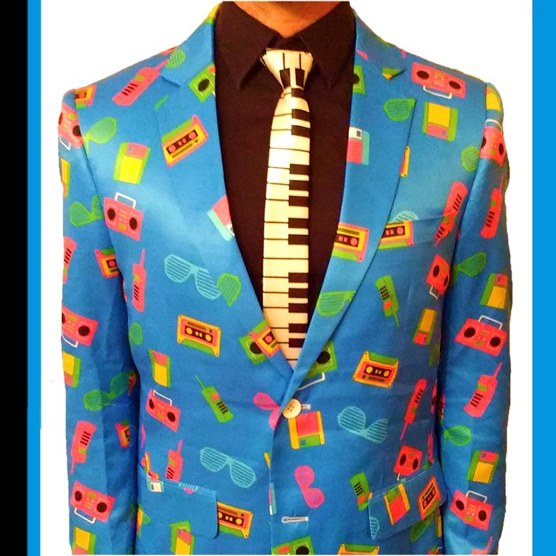 The 80s Eighties Suit by Fruitysuits
