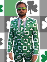 The Shamrock Suit & matching tie