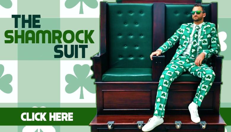 The Irish Shamrock Suit