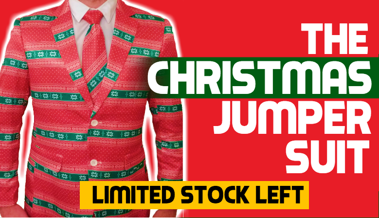 The Ultimate Christmas Jumper Suit