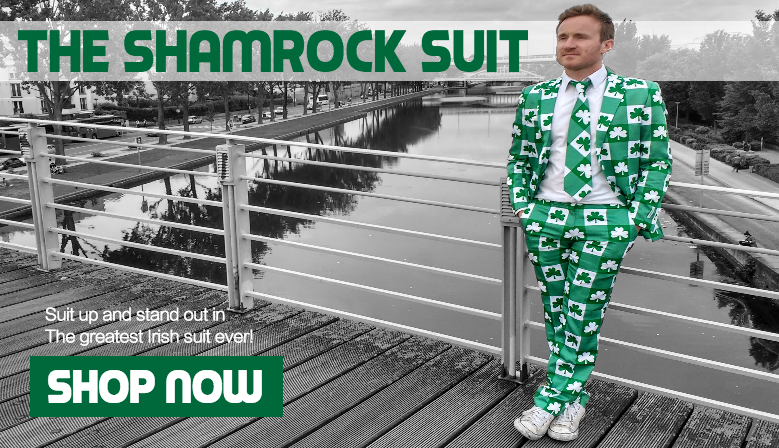 The Irish Shamrock Suit