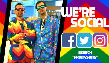 Social Media Fruitysuits