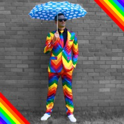 The Rainbow Suit - Pride and Style in one suit