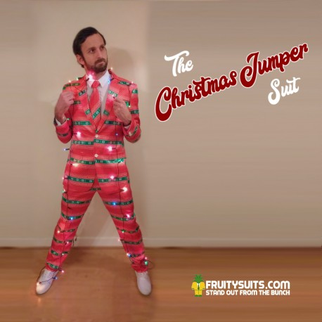 The Christmas Jumper Suit & Tie