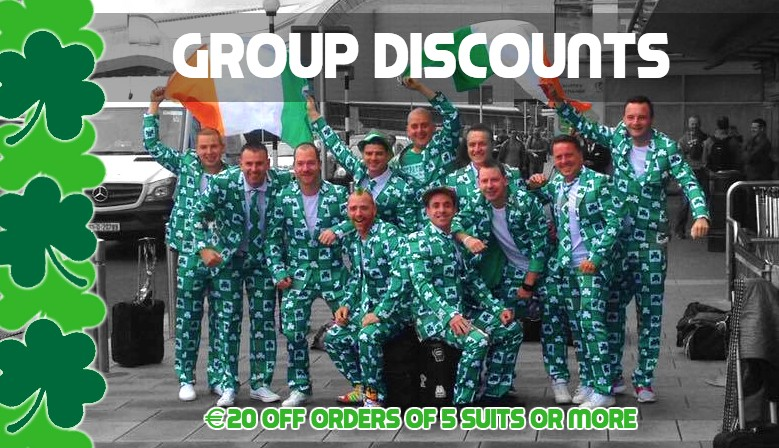 Suit up together with our Group Discounts